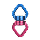 AusKit Rotational Device, Swivel 360° Rotator (30KN) with 2 Carabiners For Rope Clambing Hammock, Swing Setting, Aerial Dance